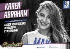 #EsteJueves Karen Abraham en @becketts 25 de Mayo 783 #Tucuman https://youtu.be/dF2KD9NeR_g