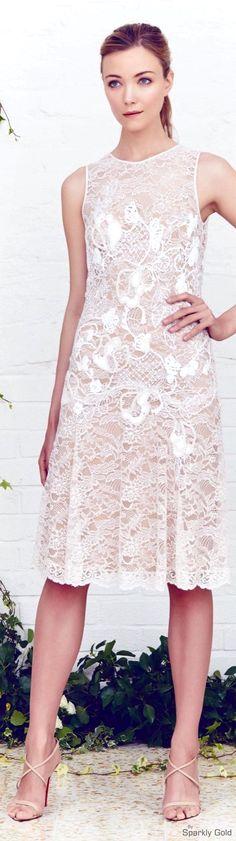 Jenny Packham Resort 2016 women fashion outfit clothing stylish apparel @roressclothes closet ideas