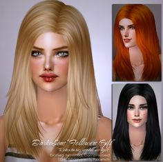 Puccamichi shared a hair re-texture ^_^ Sims 2, Texture, Hair, Gifts, Mesh, Grey, Colors, Style