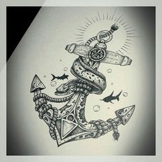 Anchor tattoo inspiration
