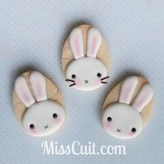 Bunny cookie tutorial (easy)