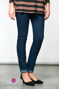Classic Dark Wash Jeggings! | Shop this boutique deal on Jane!