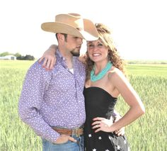 engagement photos! Country! :)