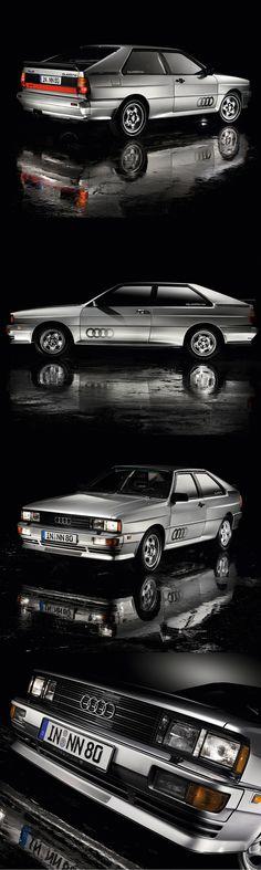 1980 Audi Quattro / 197hp 2.1l L5 / silver / Germany / Ur-Quattro / photography: Pedro Mota