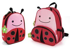 Ladybug Lunchie & Backpack set. The kids will LOVE! $34