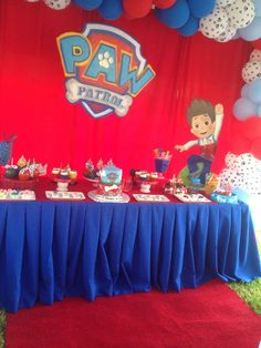 Exotic Events's Birthday / Paw Patrol - Photo Gallery at Catch My Party 6th Birthday Parties, 4th Birthday, Birthday Cake, Paw Patrol Party, Paw Patrol Birthday, Cumple Paw Patrol, Birthdays, Party Ideas, Wedding Decoration