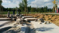 Šmartinski Park, Playground by LUZ « Landscape Architecture Works | Landezine
