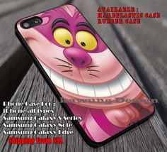 Purple Cat Funny, Chesire, Alice In Wonderland, Mad Hater, White Rabbit, case/cover for iPhone 4/4s/5/5c/6/6 /6s/6s  Samsung Galaxy S4/S5/S6/Edge/Edge  NOTE 3/4/5 #cartoon #anime #alice ii