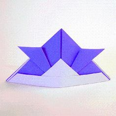 DIY Origami: DIY Origami Samurai Hat