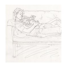 burdge | Tumblr ❤ liked on Polyvore featuring drawings, couples, drawing, fillers and pictures