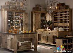vintage yemek masası