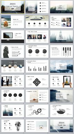 27+ gray Swot chart timeline PowerPoint template on Behance