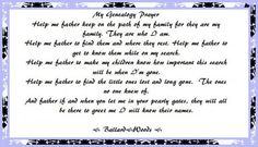 My Genealogy Prayer...my ancestors, they are who I am....a sweet heritage verse that would be great to include in a family history project or a heritage scrapbook.