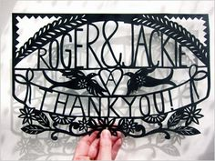 Paper cuts from Poppy Chancellor (London) $90 and up