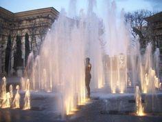 Poseidon y chorros de agua. Montpellier. FR.-