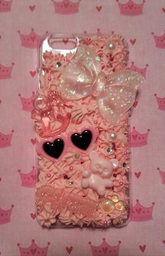 Hey, I found this really awesome Etsy listing at https://www.etsy.com/listing/270576358/baby-pink-iphone-6-decoden-case