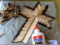 Matchstick Cross – Easter Craft for Kids