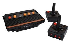 Atari Flashback 4 - An officially licensed, redesigned Atari 2600/7800 with a small form factor, wireless controllers and 70 built in games from AtGames.