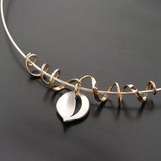 Leaf & Tendril Pendant.........(G-20 Necklace)