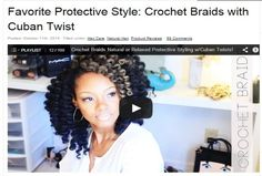Crochet Braids Itch : ... on Pinterest Short Natural Hair, Goddess Braids and Shea Butter