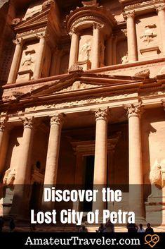 Discover the Lost City of Petra #travel #petra #jordan