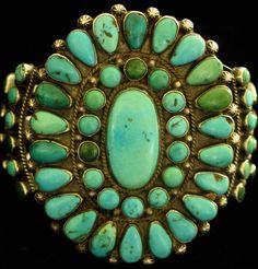 Native American  Cluster Bracelet...