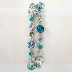Touchstone Crystal - This screams blue waters!