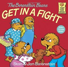 The Berenstain Bears Get in a Fight by Stan Berenstain http://www.amazon.com/dp/0394851323/ref=cm_sw_r_pi_dp_eyPVtb0MHN7DHFC5