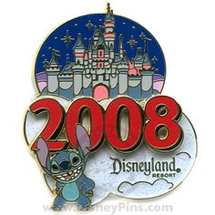 2008 Sleeping Beauty Castle - Stitch