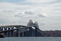 The Jamestown Bridge (Old & New)