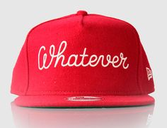 Whatever Snapback Cap by CEIZER x NEW ERA