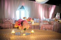 Gorgeous centerpieces.  Photo by Soli Photography