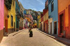 Guanajuato was one of the settings for Hidden Moon