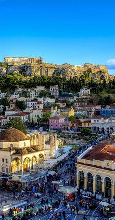 Por @ma7heuspessoa - Gostaria de conhecer a Grécia com seus monumentos históricos e praias espetaculares.