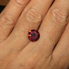 Permata Garnet Natural 3.31 cts Rp. 329rb termasuk memo keaslian batu mulia