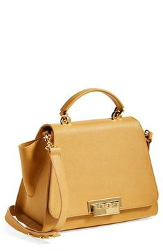 ZAC Zac Posen 'Eartha' Saffiano Leather Top Handle Satchel