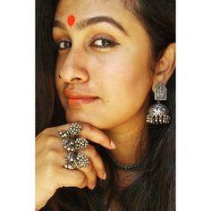 #kavithanair #antiquering #silver