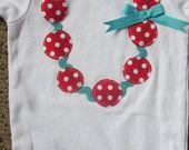Cute necklace onesie