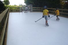 Want An Ice Rink And Live In A Place With Mild Winters? Super Glide