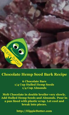 Chocolate Hemp Bark Recipe