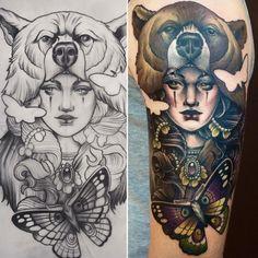Zobacz na Instagramie zdjęcie użytkownika @karolina.wilczewska.tattoo • Polubienia: 296