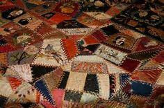 Image result for Antique Crazy Quilts
