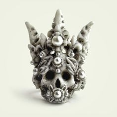 Products | Macabre Gadgets fashion Jewelry Coral crown ring