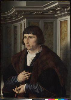 Homme au rosaire Gossaert Jan, Mabuse (dit) (vers 1478-1532)
