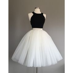 Ivory Tulle Skirt light ivory tulle skirt, Adult Bachelorette Tutu-... ($75) ❤ liked on Polyvore featuring skirts, white skirt, long skirts, long sheer skirt, high waisted long skirt and mini skirt