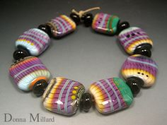 Desert Lace - collection of art glass beads made by me, in my etsy.  Click me to go there!