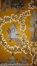 "Vintage Historic Wallpaper - ""Imperial Pagoda"" by Waterhouse Wallhangings"