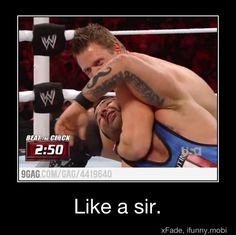 How awesome! Too bad The Miz ain't the number one contender!