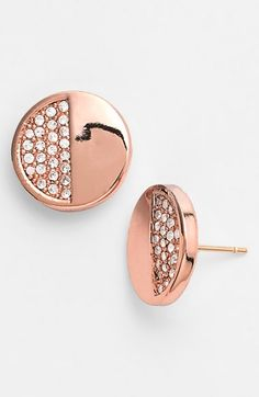 adorable Kate Spade stud earrings!