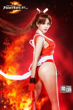 Mai Shiranui (THE KING OF FIGHTERS'97 OL) by aoandou